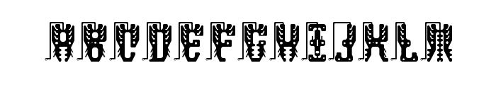 masquerade Regular Font UPPERCASE