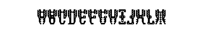 masquerade Regular Font LOWERCASE