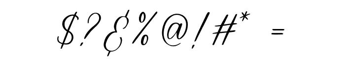 mataniascript-Regular Font OTHER CHARS