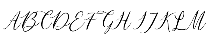 mataniascript-Regular Font UPPERCASE