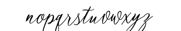 mataniascript-Regular Font LOWERCASE