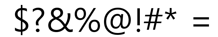 Malgun Gothic Font OTHER CHARS