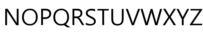 Malgun Gothic Font UPPERCASE