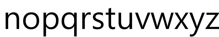 Malgun Gothic Font LOWERCASE