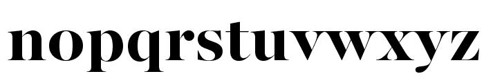 MajestiBanner-Bold Font LOWERCASE