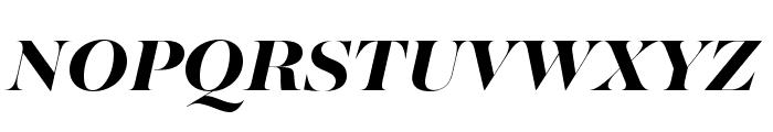 MajestiBanner-HeavyItalic Font UPPERCASE