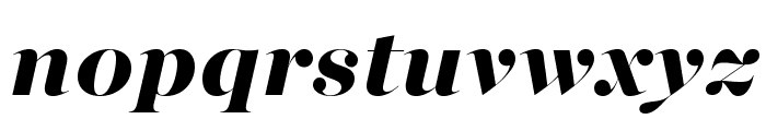 MajestiBanner-HeavyItalic Font LOWERCASE
