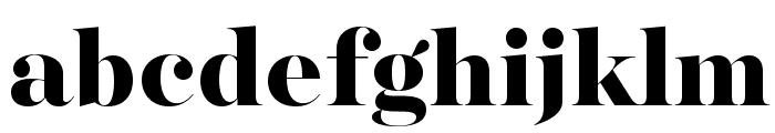 MajestiBanner-Heavy Font LOWERCASE