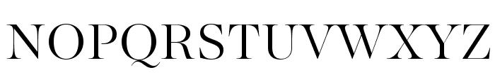 MajestiBanner-Light Font UPPERCASE