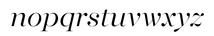 MajestiBanner-LightItalic Font LOWERCASE