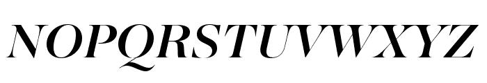 MajestiBanner-MediumItalic Font UPPERCASE