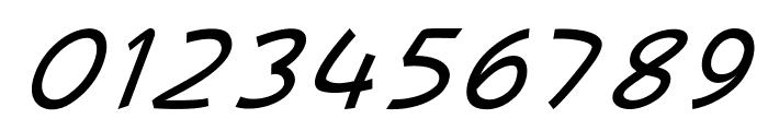 MajorcaItalic Font OTHER CHARS