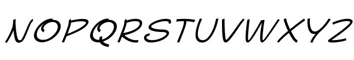 MajorcaItalic Font UPPERCASE