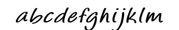 Majorco-BoldItalic Font LOWERCASE