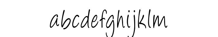 Majorco-CondensedRegular Font LOWERCASE