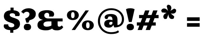 Mala Black Font OTHER CHARS