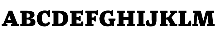 Mala Black Font UPPERCASE