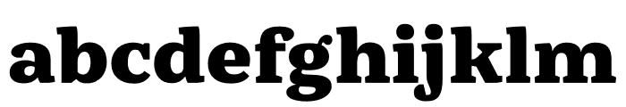 Mala Black Font LOWERCASE