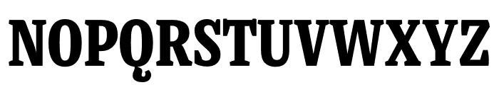 Mala Condensed Black Font UPPERCASE