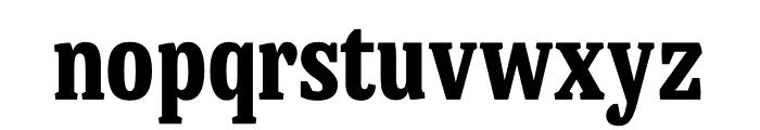 Mala Condensed Black Font LOWERCASE