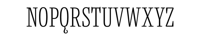 Mala Condensed ExtraLight Font UPPERCASE
