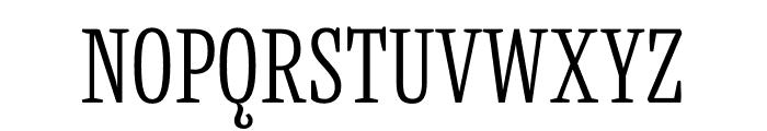 Mala Condensed Light Font UPPERCASE
