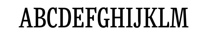 Mala Condensed Regular Font UPPERCASE