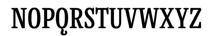 Mala Condensed SemiBold Font UPPERCASE