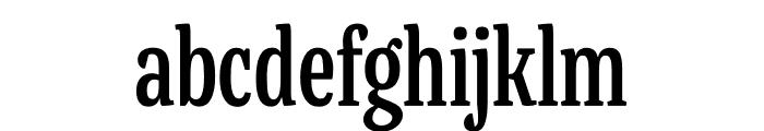 Mala Condensed SemiBold Font LOWERCASE