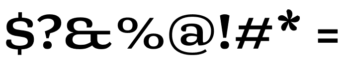 Mala Extended Bold Font OTHER CHARS