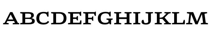 Mala Extended Bold Font UPPERCASE