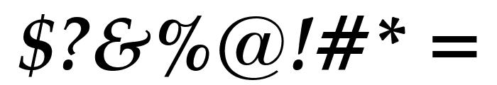 Manuscript Bold Italic Font OTHER CHARS