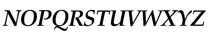 Manuscript Bold Italic Font UPPERCASE