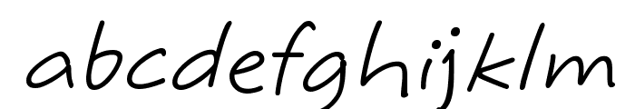 MaritaTextBookHMK Font LOWERCASE
