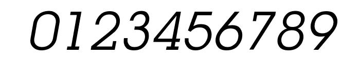 Mason Book Oblique Font OTHER CHARS