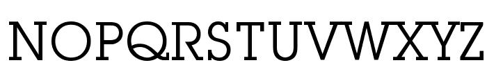 Mason Book Font UPPERCASE