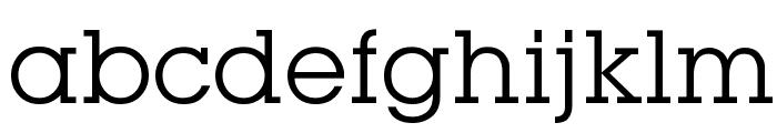 Mason Book Font LOWERCASE