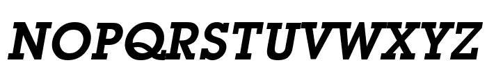 Mason Demi Oblique Font UPPERCASE