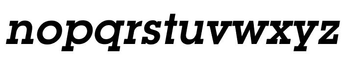 Mason Demi Oblique Font LOWERCASE