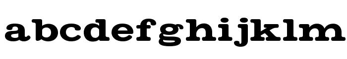 Matchbook Regular Font LOWERCASE