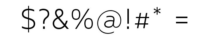 MavenProLight300-Regular Font OTHER CHARS