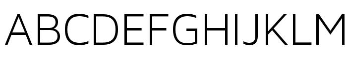 MavenProLight300-Regular Font UPPERCASE