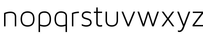 MavenProLight300-Regular Font LOWERCASE