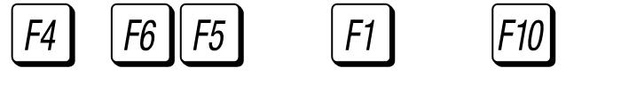 Mac Key Caps Pi Regular Font OTHER CHARS