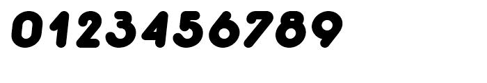 Macaroni Sans Black Italic Font OTHER CHARS