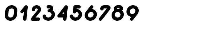 Macaroni Sans Heavy Italic Font OTHER CHARS