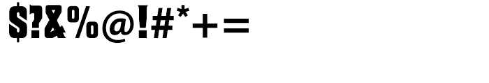 Macbeth Regular Font OTHER CHARS