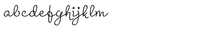 Madeleine Regular Font LOWERCASE