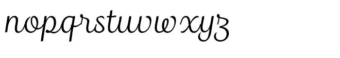Madre Script Font LOWERCASE