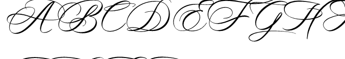 Madrigalle Minuet Font UPPERCASE
